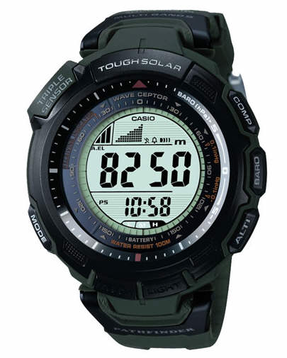 casio compass thermometer watch manual